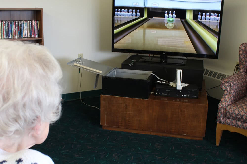 Wii Bowling Video Game