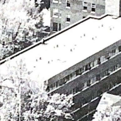 1957 First infirmary unit added